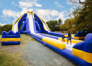 Trippo tobogan inflable